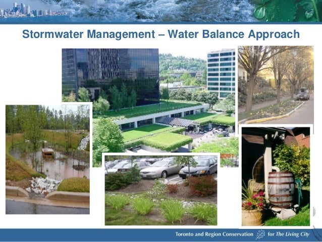 trca storm water management critera document