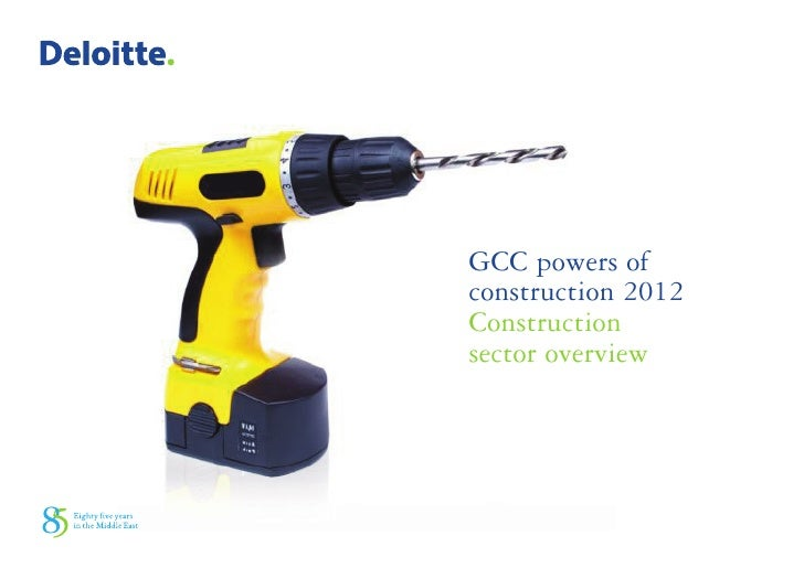 GCC powers ofconstruction 2012Constructionsector overview