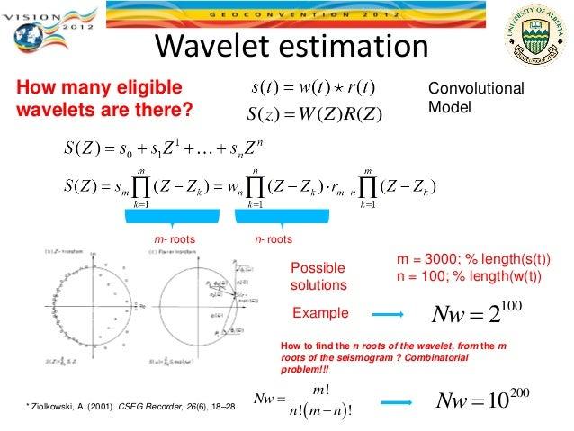 Short-time homomorphic wavelet estimation  Slide 3