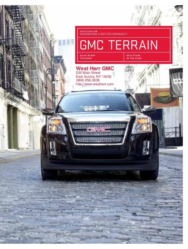 West Herr East Aurora >> 2012 GMC Terrain For Sale NY   GMC Dealer Near Buffalo