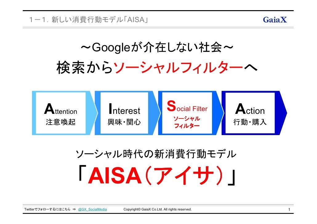 2012年googleが介在しない社会『aisa(アイサ)』~ソーシャル時代の新消費行動モデル