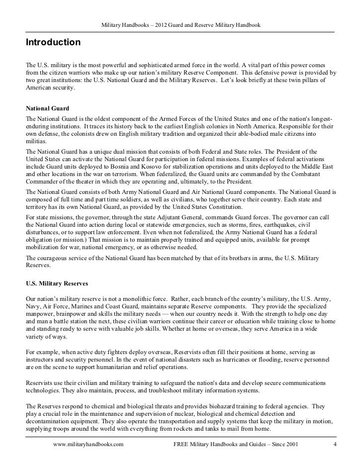 army national guard cover letter - Template