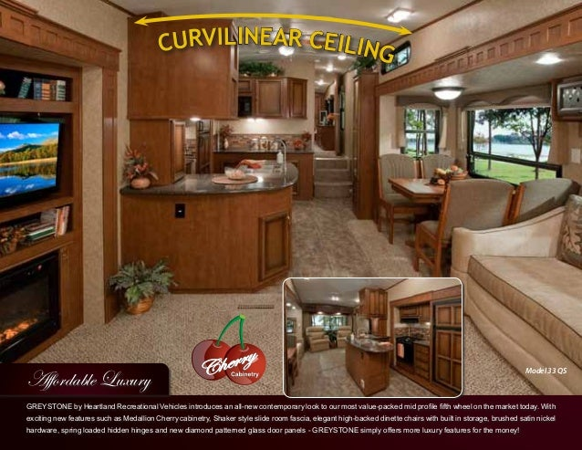 2012 Heartland Greystone Fifth Wheel
