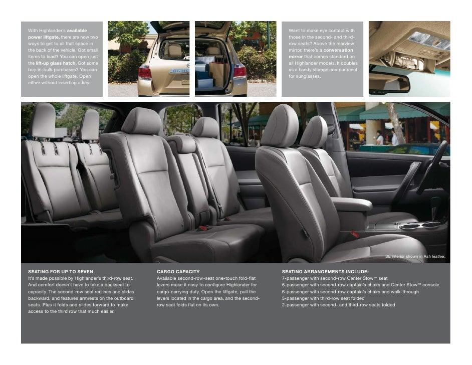 2012 toyota highlander brochure tampa florida toyota dealer wesley. Black Bedroom Furniture Sets. Home Design Ideas