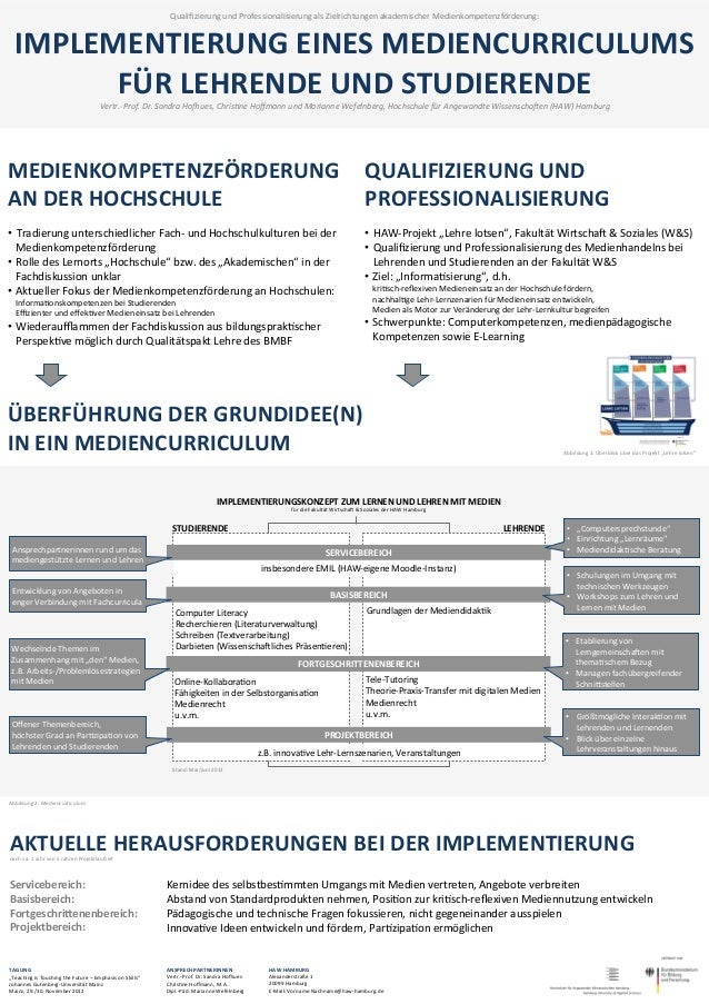 Qualifizierung und Professionalisierung als Zielrichtungen akademischer Medienkompetenzförderung:     IMPLE...