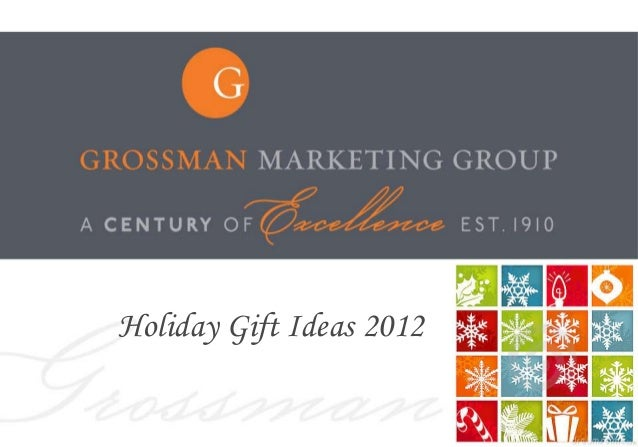 Holiday Gift Ideas 2012                          1