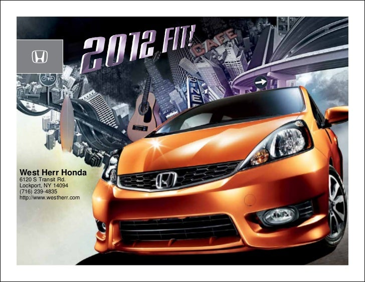 2012 Honda Fit For Sale Ny Honda Dealer Near Buffalo