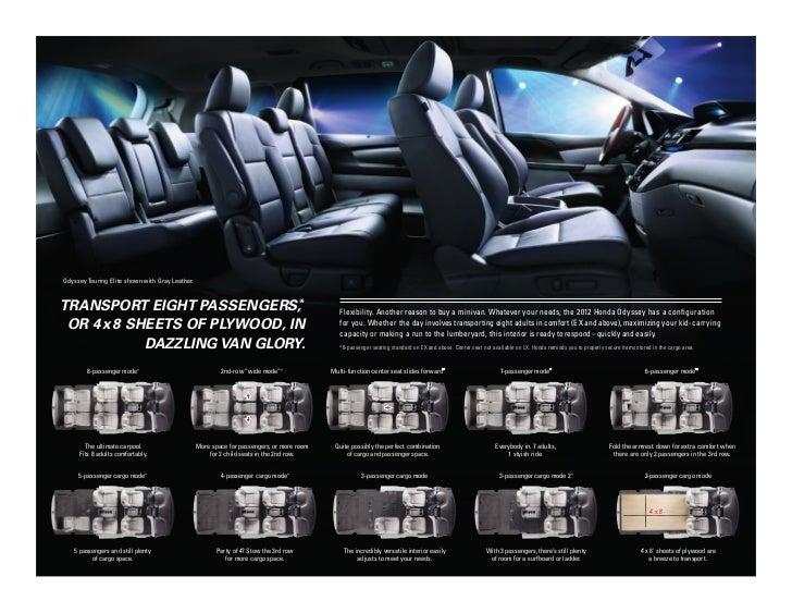 2012 Honda Odyssey Brochure Honda Dealer Serving