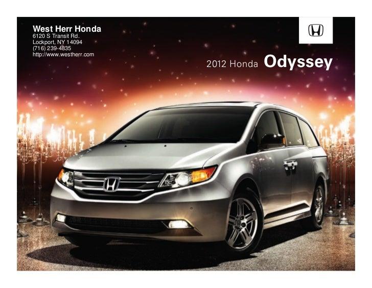 2012 Honda Odyssey For Sale >> 2012 Honda Odyssey For Sale Ny Honda Dealer Near Buffalo