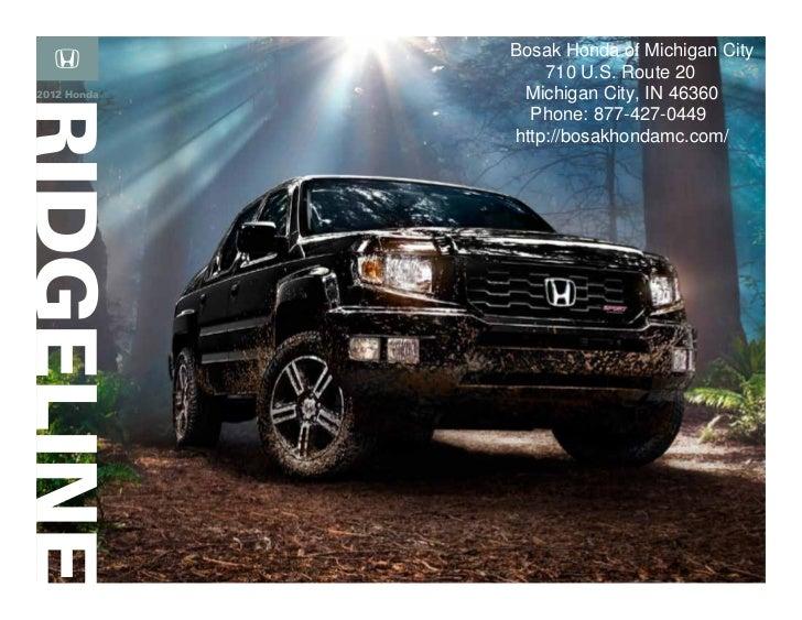 2012 honda ridgeline brochure honda dealer serving for Honda dealership tampa florida
