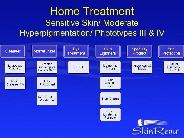 Home Treatment      Sensitive Skin/ ModerateHyperpigmentation/ Phototypes III & IV