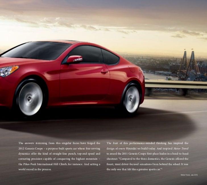 Top Of The Line Hyundai: 2012 Hyundai Genesis Coupe For Sale VA