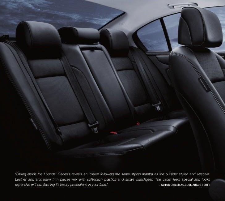 Genesis 5.0 R Spec In PlaTinum MeTallic; 6. U201cSitting Inside The Hyundai ...