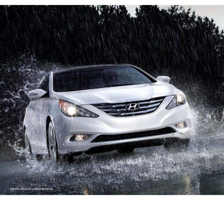 2012 Hyundai Sonata / Hybrid / Turbo EBrochure Glenbrook