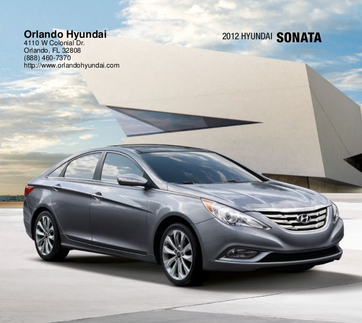 2012 hyundai sonata for sale fl hyundai dealer orlando. Black Bedroom Furniture Sets. Home Design Ideas
