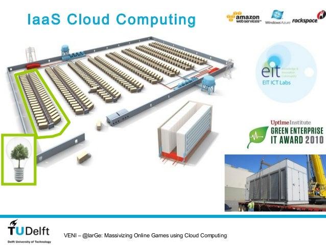 IaaS Cloud Computing    VENI – @larGe: Massivizing Online Games using Cloud Computing