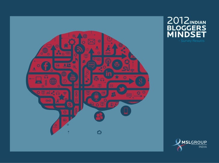 The 2012 Indian Bloggers Mindset Survey Report