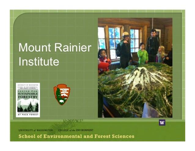 Mount RainierInstitute