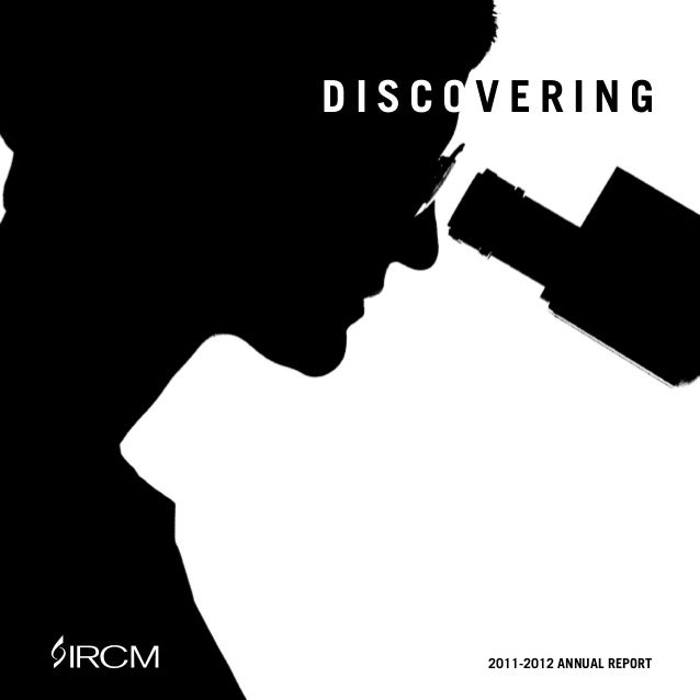 |1DISCOVERING     2011-2012 ANNUAL REPORT