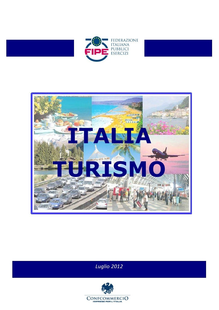 ITALIATURISMO  Luglio 2012