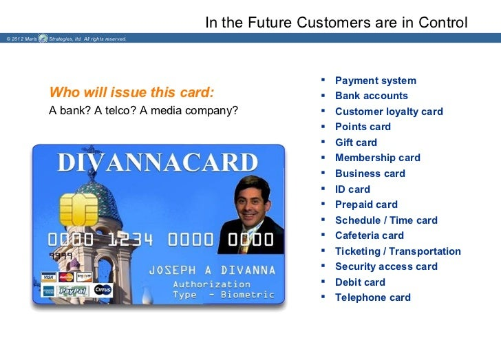 In the Future Customers are in Control© 2012 Maris   Strategies, ltd. All rights reserved.                                ...