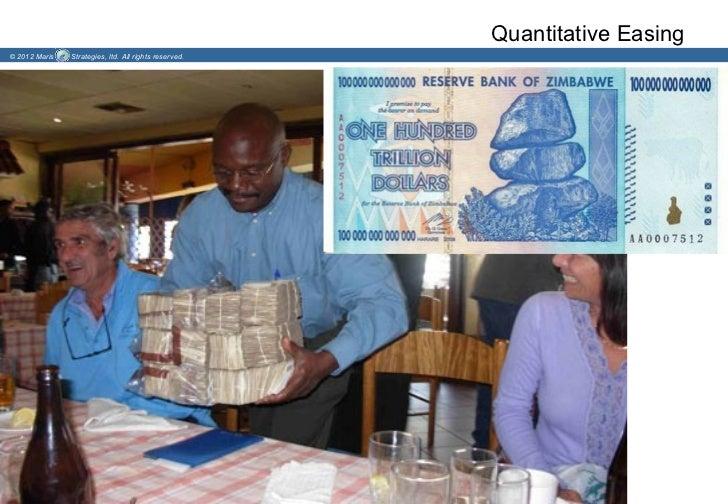 Quantitative Easing© 2012 Maris   Strategies, ltd. All rights reserved.