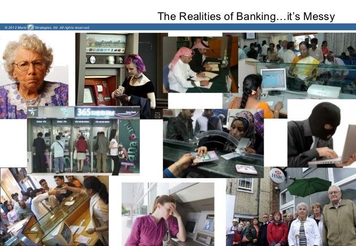 The Realities of Banking…it's Messy© 2012 Maris   Strategies, ltd. All rights reserved.