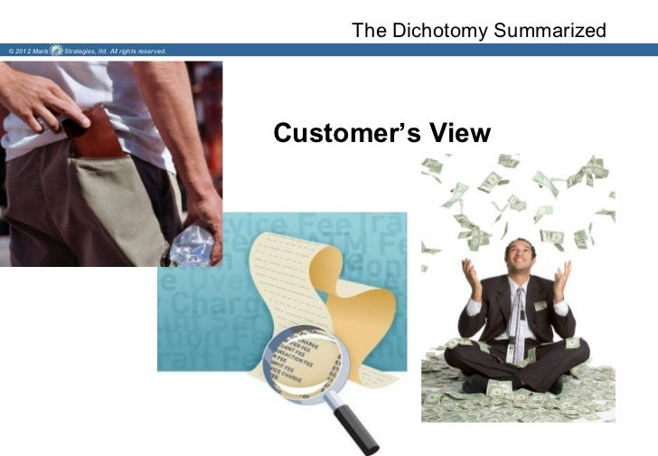 The Dichotomy Summarized© 2012 Maris   Strategies, ltd. All rights reserved.                                              ...