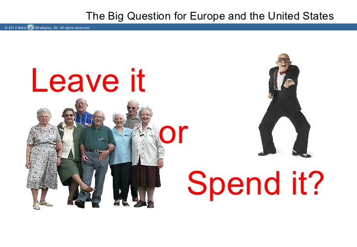 The Big Question for Europe and the United States© 2012 Maris   Strategies, ltd. All rights reserved.               Leave ...