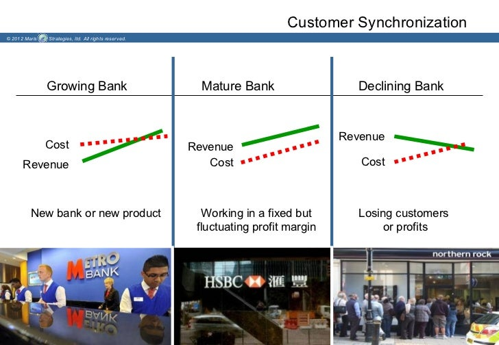 Customer Synchronization© 2012 Maris   Strategies, ltd. All rights reserved.               Growing Bank                   ...