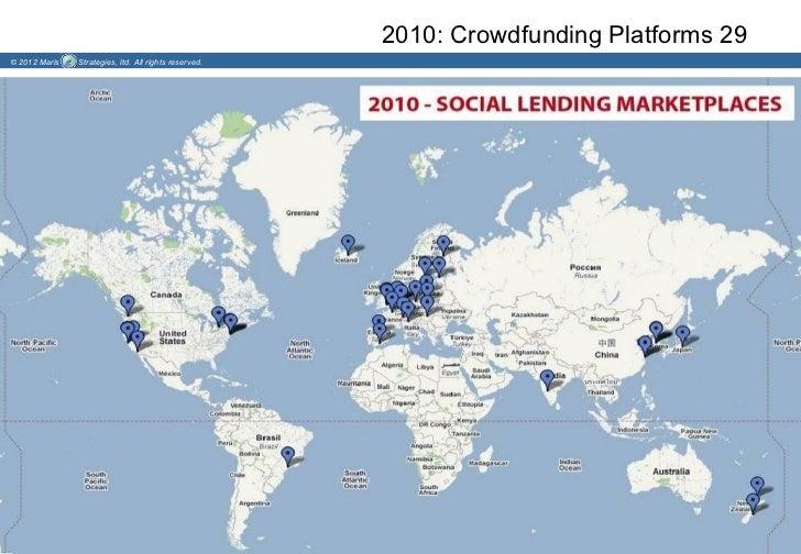 2010: Crowdfunding Platforms 29© 2012 Maris   Strategies, ltd. All rights reserved.