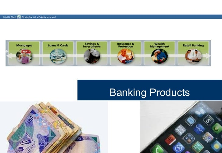 © 2012 Maris   Strategies, ltd. All rights reserved.                                                       Banking Products