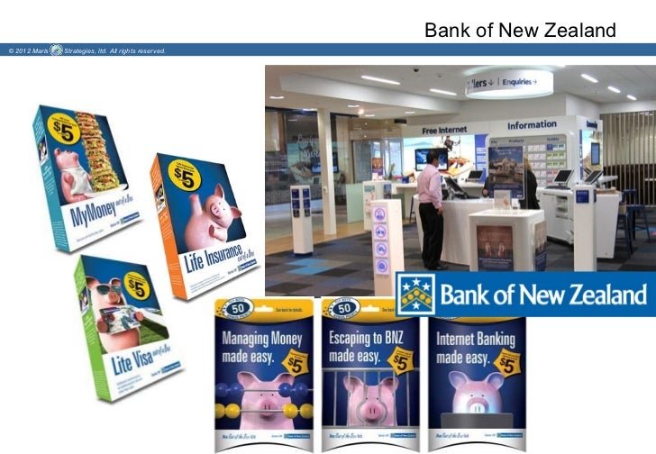 Bank of New Zealand© 2012 Maris   Strategies, ltd. All rights reserved.