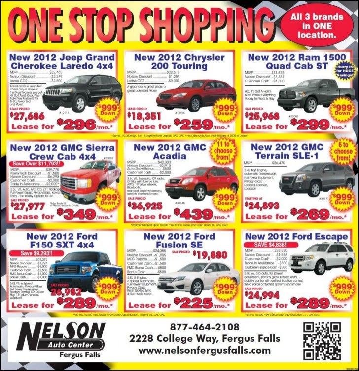 2012 Jeep Chrysler GMC Ford Cars for Sale near Fargo MN  sc 1 st  SlideShare & Jeep Chrysler GMC Ford Cars for Sale near Fargo MN markmcfarlin.com