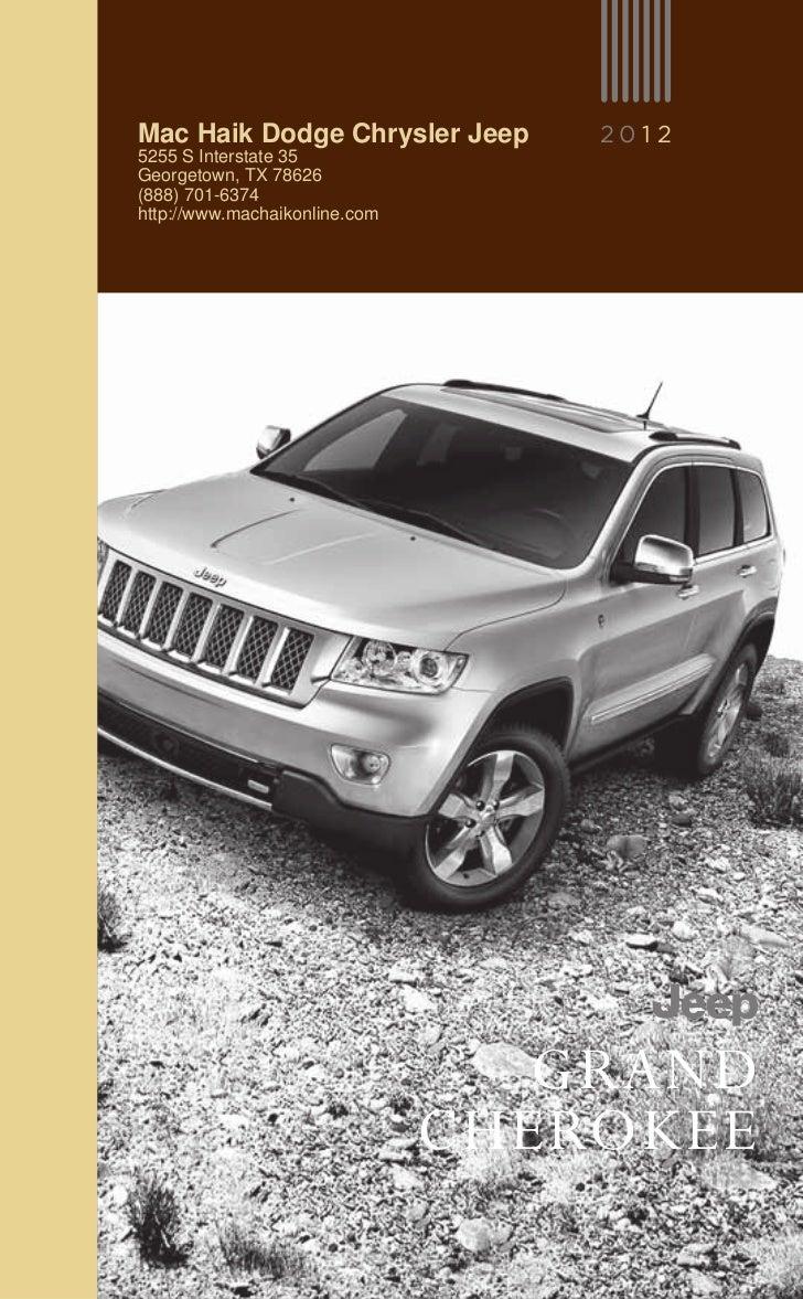 2012 jeep grand cherokee for sale tx jeep dealer near austin. Black Bedroom Furniture Sets. Home Design Ideas