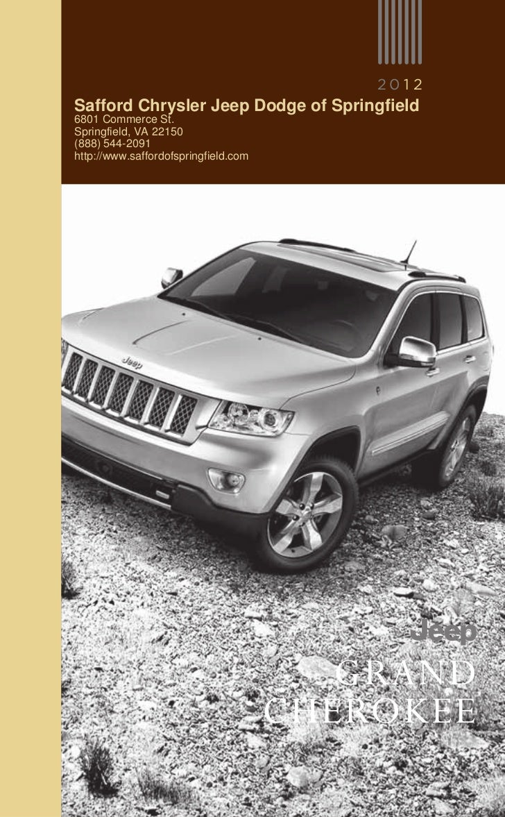 2012 jeep grand cherokee for sale va jeep dealer near alexandria. Black Bedroom Furniture Sets. Home Design Ideas