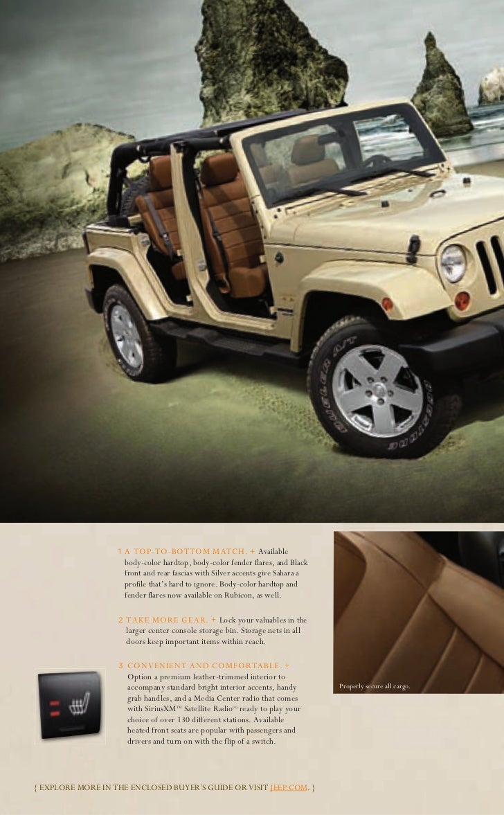 22. Shown With Authentic Jeep® Accessories ...