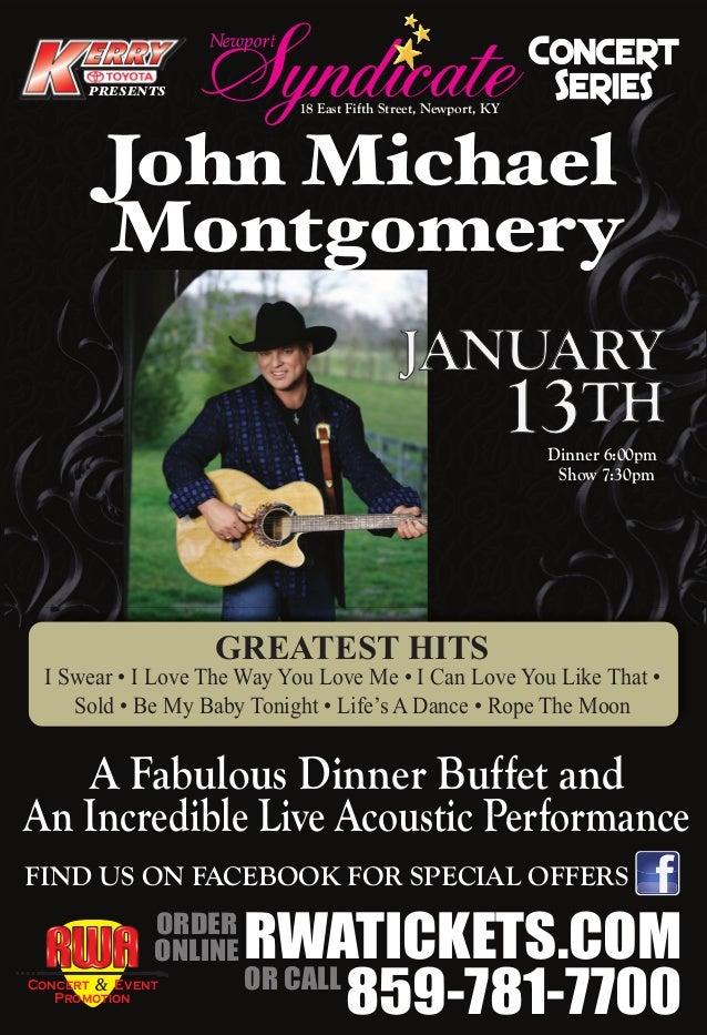 John Michael Montgomery Poster
