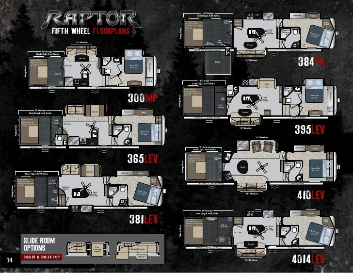 2012 Keystone Raptor Toy Haulers
