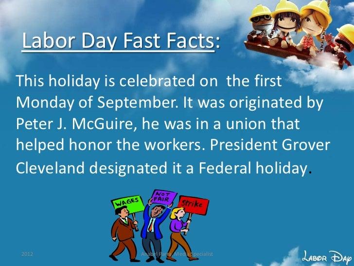 2012 Labor Day