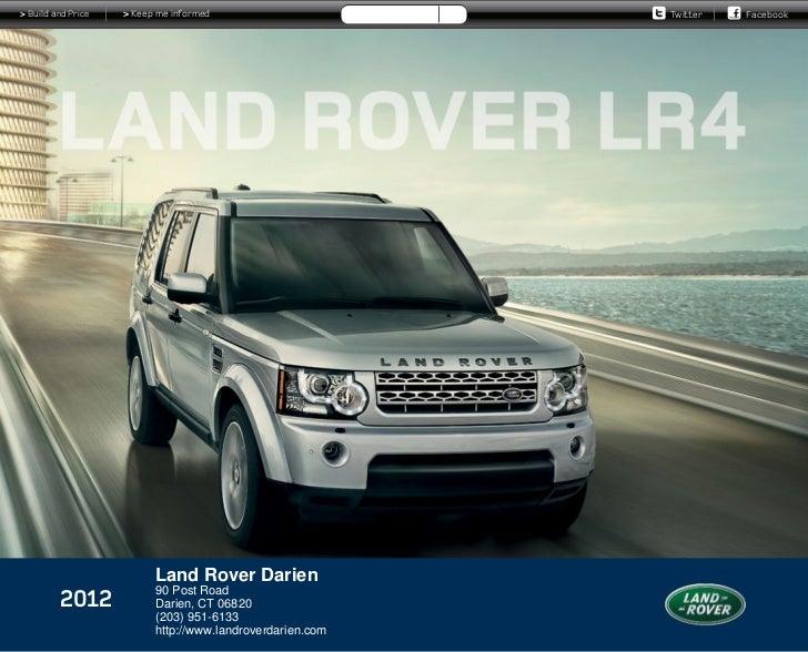 2012 land rover lr4 for sale ct land rover dealer connecticut. Black Bedroom Furniture Sets. Home Design Ideas