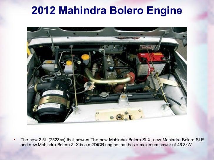 2012 Mahindra Bolero In India