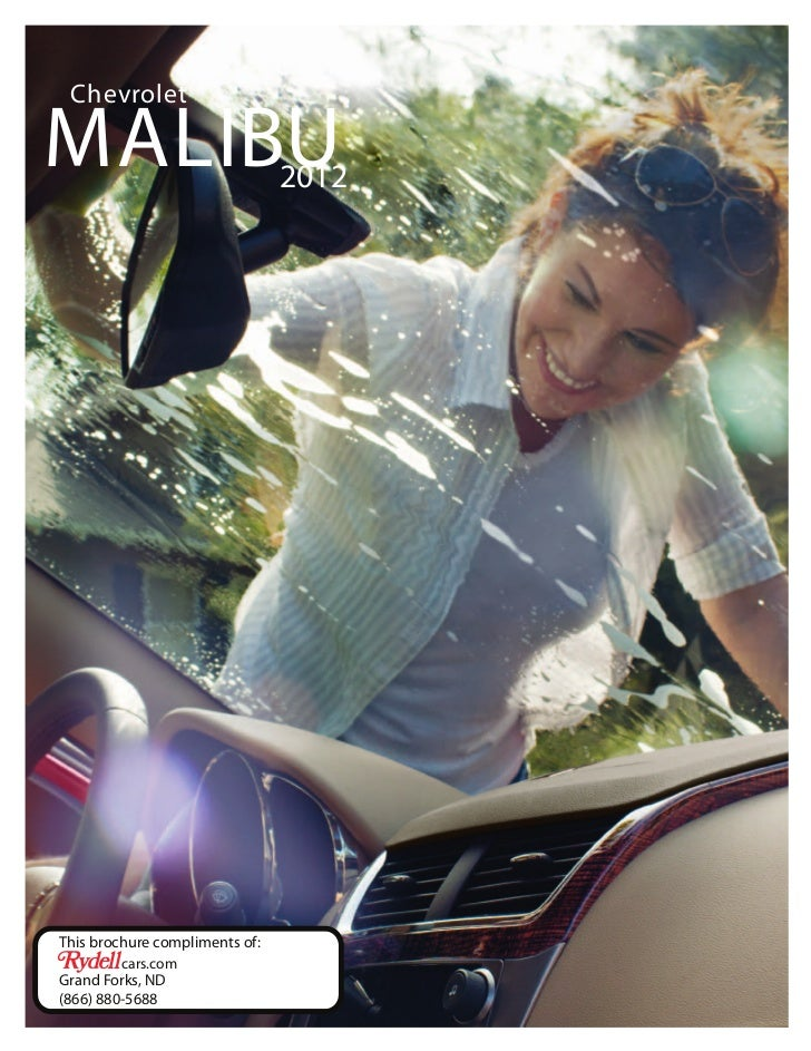 ChevroletMALIBU                          2012This brochure compliments of:         cars.comGrand Forks, ND(866) 880-5688