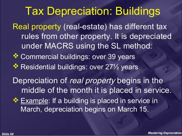 Real Property Is Always Depreciated Using The Straight Line Method