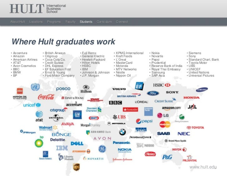 Hult International Business School Masters Overview 2012