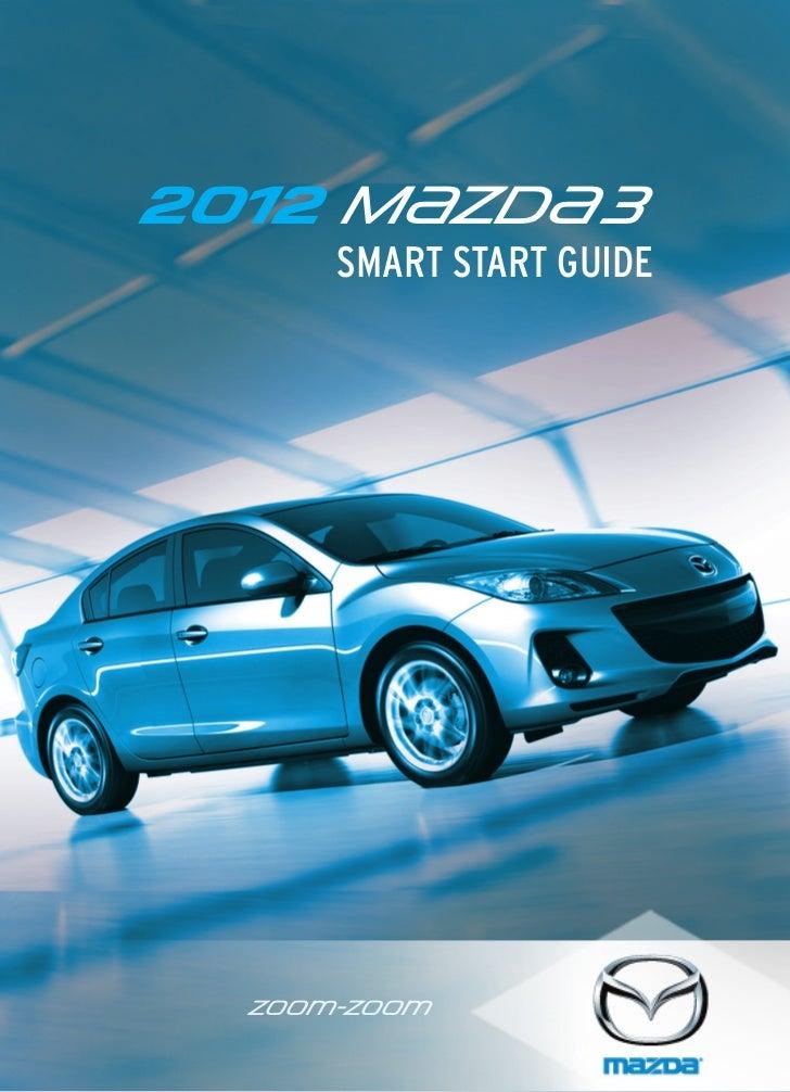 2012 M{zd{ 3      SMART START GUIDE  zoo}-zoo}                  Optional equipment shown.