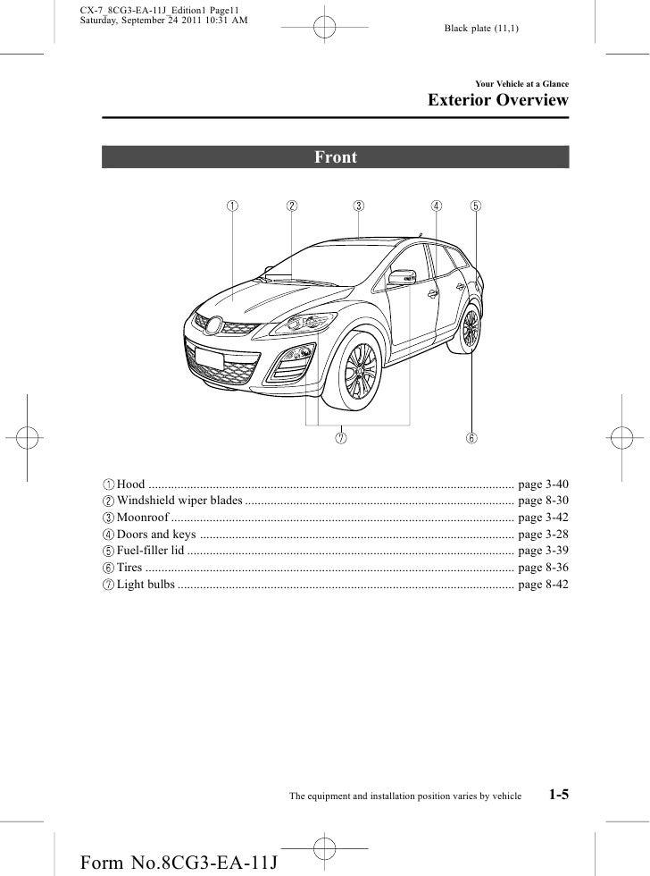 2012 mazda cx 7 crossover suv owners manual provided by naples mazda rh slideshare net 2017 Mazda CX-7 Priceing 2017 Mazda CX-7 Interior