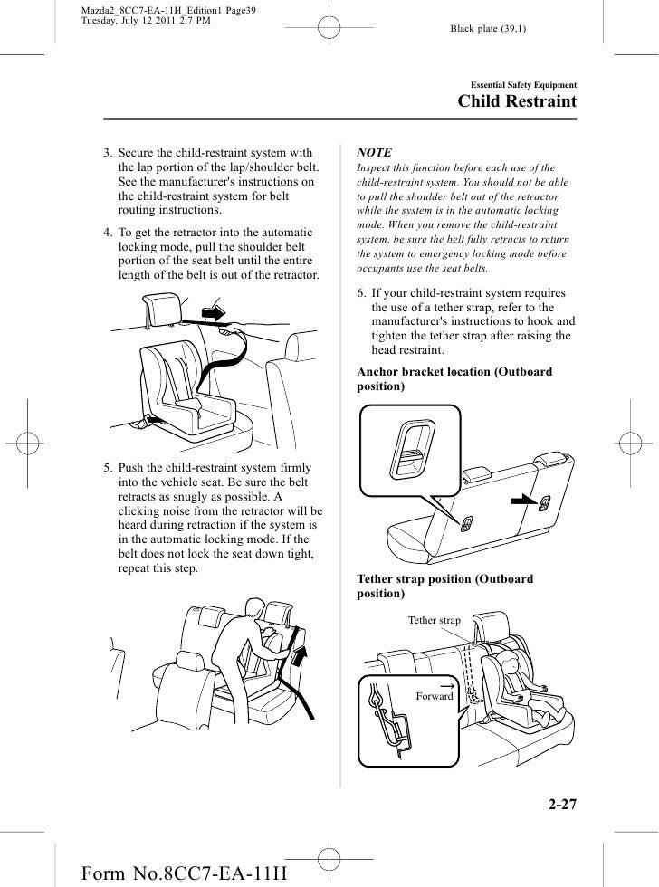 mazda 2 owners manual pdf