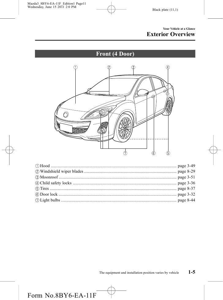 Mazda 3 manual door lock diagram user guide manual that easy to read 2012 mazda mazda3 sedan and hatchbackowners manual provided by naples rh slideshare net mazda 3 headlight parts diagram 2005 mazda 3 wiring diagram cheapraybanclubmaster Gallery