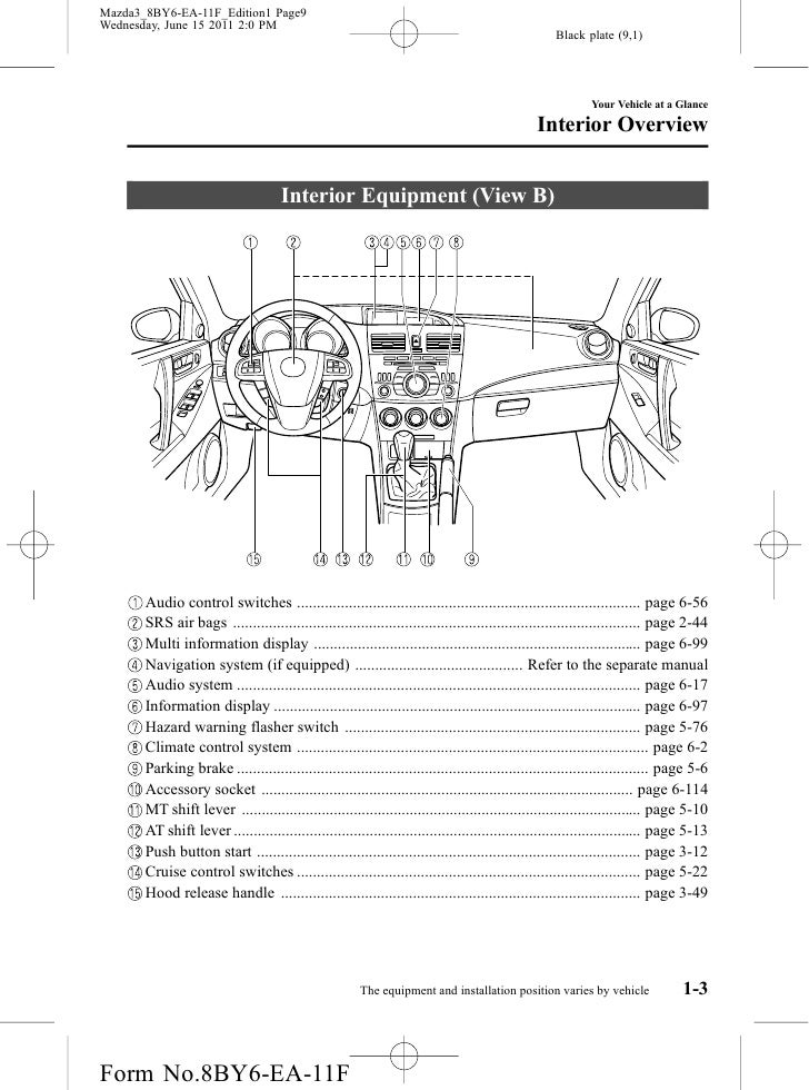 2012 Mazda 3 Wiring Diagram Mazda Auto Parts Catalog And